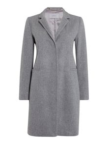 Marella March long sleeve crombie coat