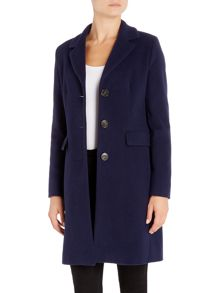 Marella Ira long sleeve single breasted coat