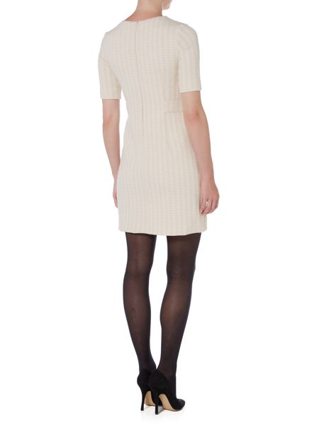 Marella Abb houndstooth shift dress