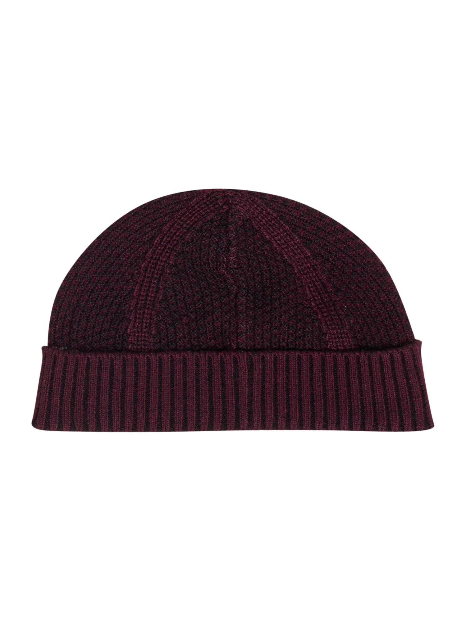 Ted Baker Ozzy Rib and Waffle Hat Purple