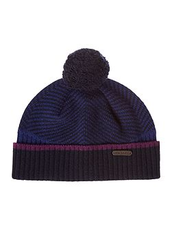 Archat Twill Knitted Bobble Hat