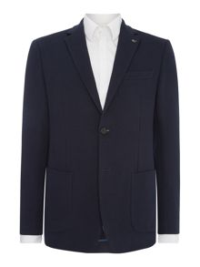 Michael Kors 2 pocket cotton pique blazer