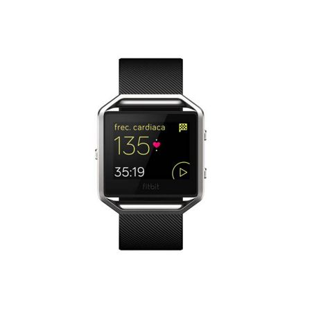 Fitbit Large Blaze Smart Fitness Watch, Black