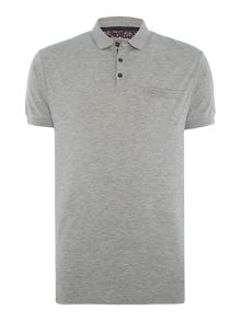 Linea Jeter Mercerised Rib Collar Polo