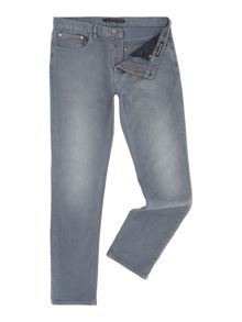 Michael Kors Slim fit slate grey jeans
