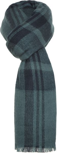 Pieces Long wide striped scarf
