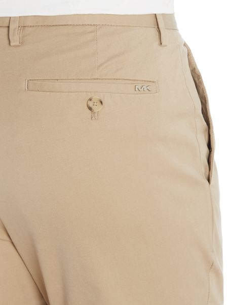Michael Kors Slim fit cotton chinos