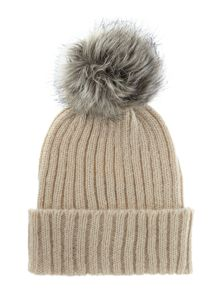 Pieces Knitted pom pom hat