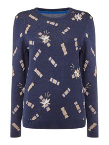 Dickins & Jones Christine Christmas Cracker Jumper