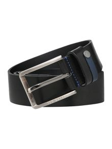 Ted Baker Keepsak Contrast Keeper Leather Belt