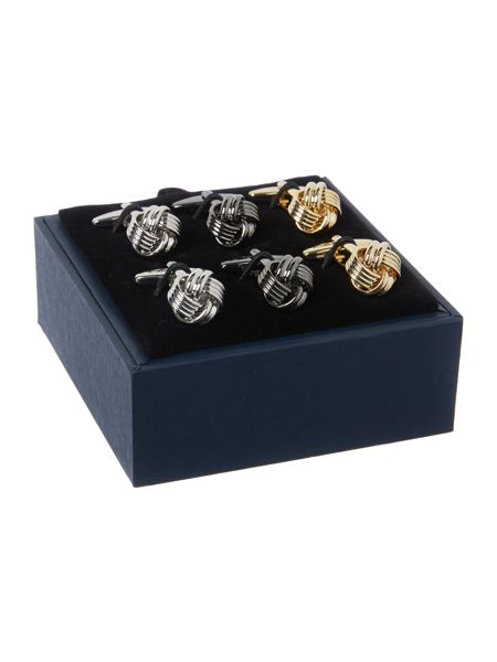 Howick Tailored 3 Knot Cufflinks