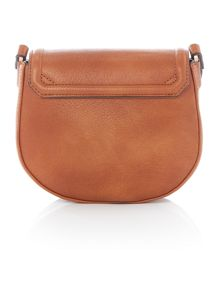 Calvin Klein Robyn tan small crossbody bag
