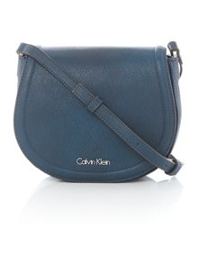 Calvin Klein Robyn blue small crossbody bag