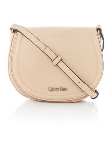 Calvin Klein Robyn neutral small crossbody bag