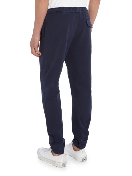 Soulland Cuffed drawstring tracksuit bottoms