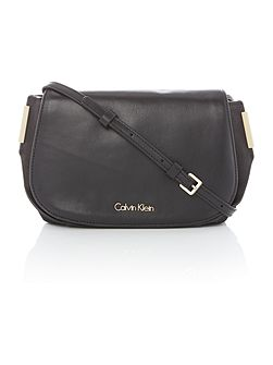 Ray black small crossbody bag