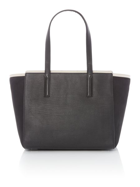 Calvin Klein Lisa black large tote bag