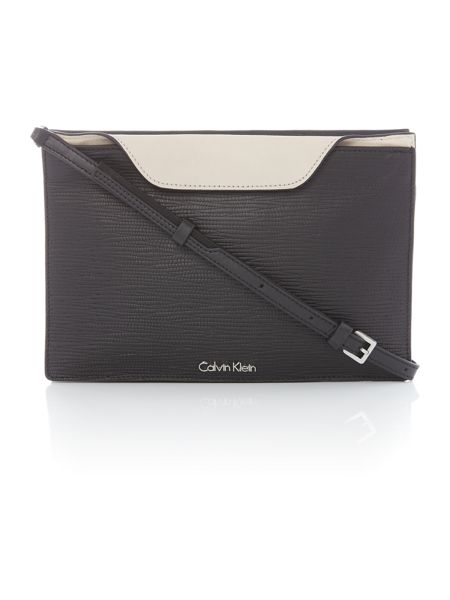 Calvin Klein Lisa black clutch crossbody bag