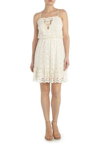 Vero Moda Sleeveless lace dress