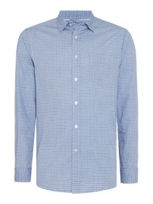 Howick Cordova Print Long Sleeve Shirt