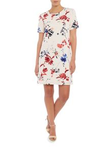 Vero Moda Sleeveless printed shift dress