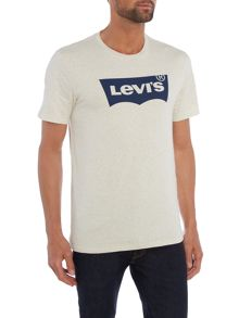 Levi's Regular fit batwing logo printed t shirt