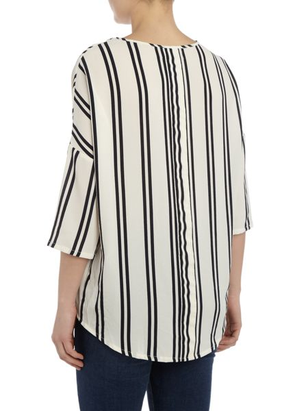 Vero Moda 3/4 sleeve stripe top
