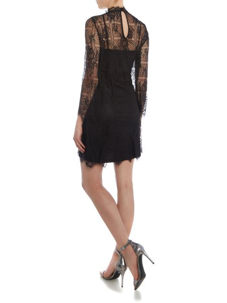 Vila 3/4 Sleeve Lace Dress