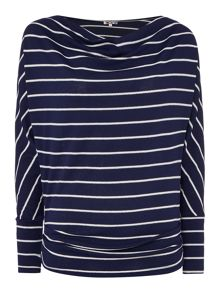 Wal-G Long Sleeved Striped Knit