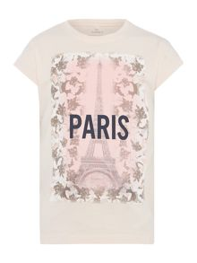 name it Girls Paris graphic top