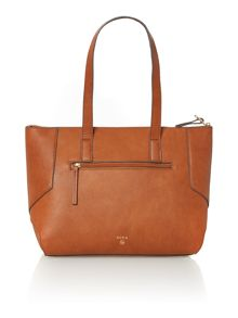 Nica Charlotte tan medium shoulder tote bag