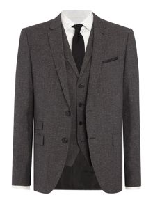 Hugo Alid/Wyll/Hilor Textured Three-Piece Suit