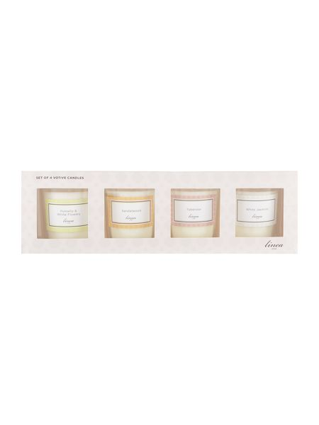 Linea Set of 4 Votives