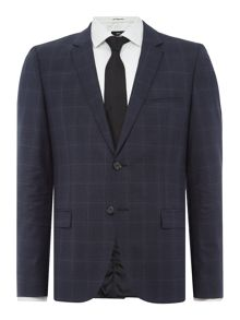 Hugo Arti/Heilon Check Two-Piece Suit
