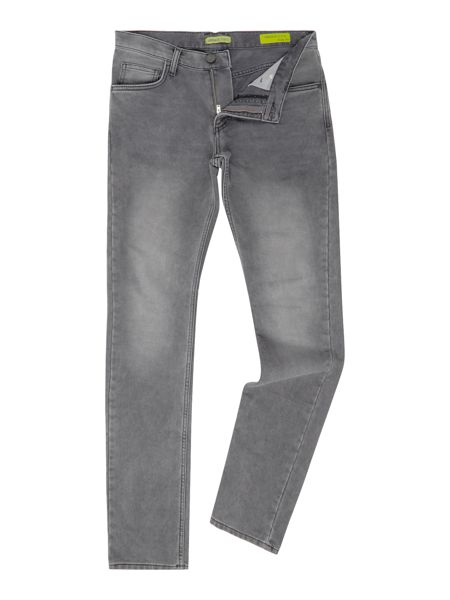 Versace Jeans Slim fit washed grey jeans