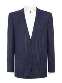 Hugo Huge Genius Chalkstripe Suit