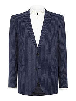 Huge Genius Chalkstripe Suit