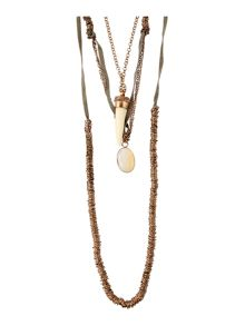 Maison De Nimes Multi Charm Necklace