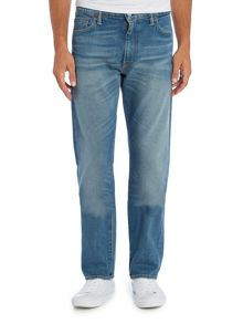 Levi's 504 salt point ridge regualr straight jeans
