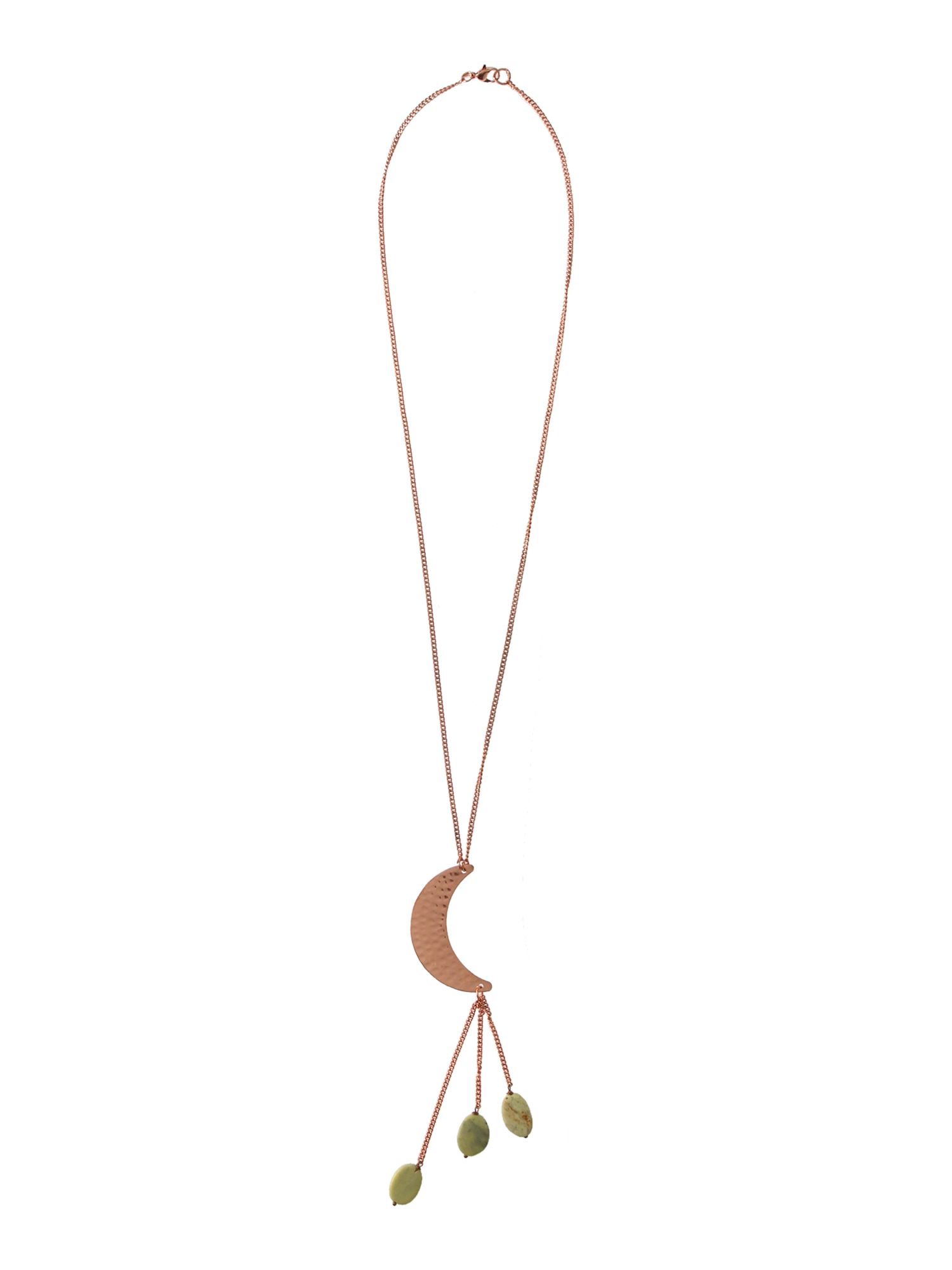 maison de nimes moon crecent necklace