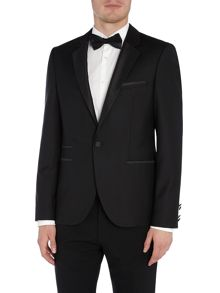 Hugo Aliks Tux Blazer with Satin Lapel