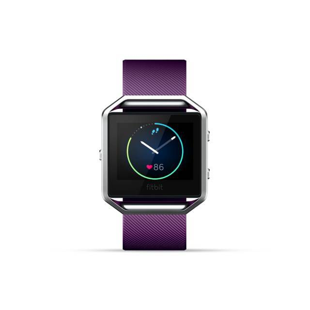Fitbit Blaze Smart Fitness Watch Large Plum