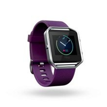Fitbit Large Blaze Smart Fitness Watch, Plum