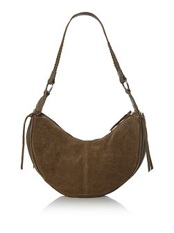 Mini sahara slouch hobo handbag