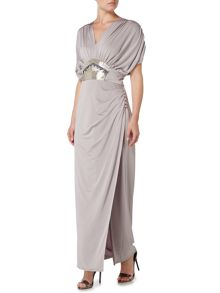Biba Embellished waist maxi dress
