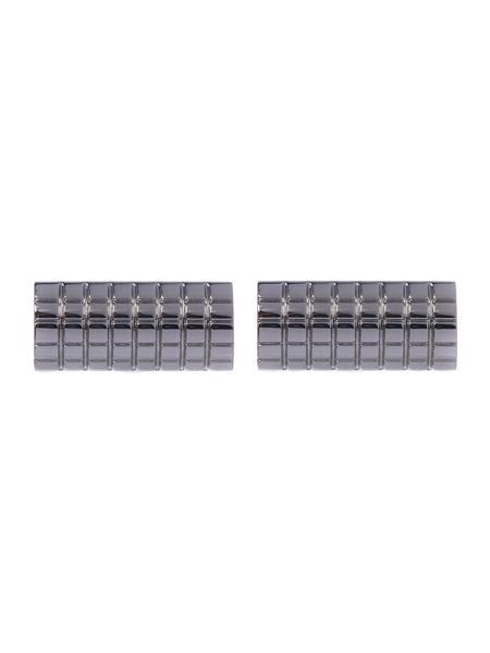 New & Lingwood Grid Cufflink and Tie Clip Set