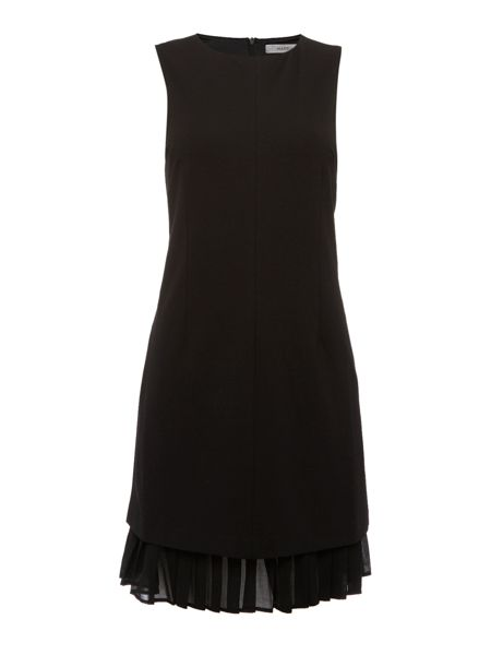 Marella Fresco sleeveless belted frill hem dress