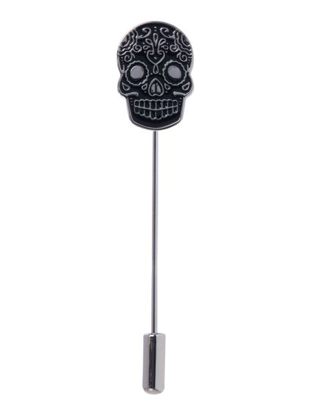 Label Lab Day Of The Dead Lapen Pin And Cufflinks