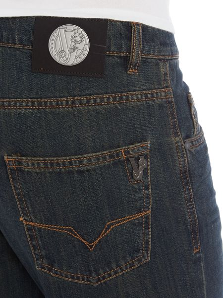 Versace Jeans Regular fit rinse wash jeans