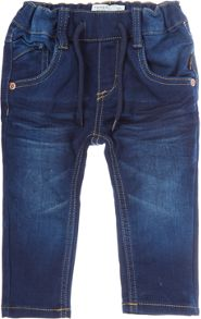name it Boys slim fit dark wash denim
